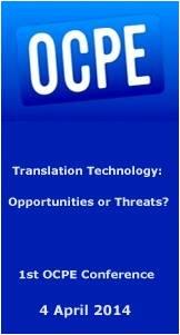 Konferenz OCPE Übersetzen und Technologie